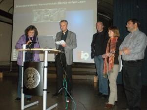 """Frau Palmié und die Fachgruppe """"Bildungsstandards und Kerncurriculum"""""""