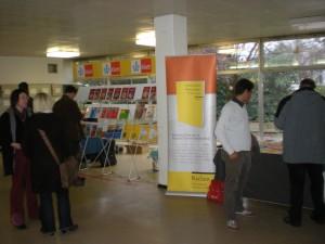 Auch in diesem Jahr waren wieder viele Verlage vertreten.